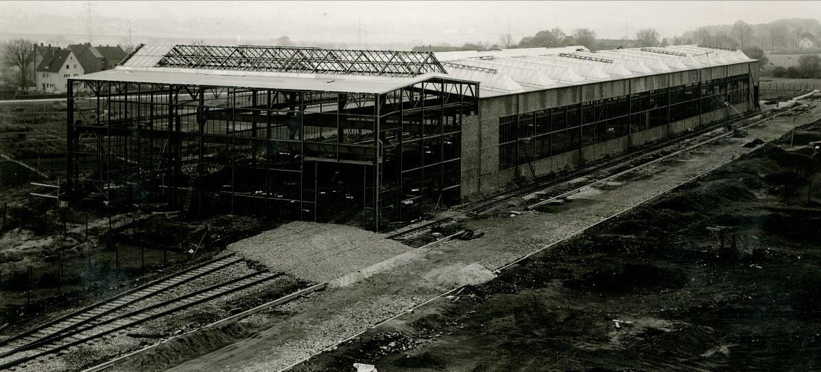 Inbetriebnahme des Presswerks vor 60 Jahren